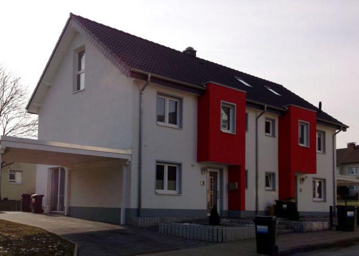 Spannendes Doppelhaus